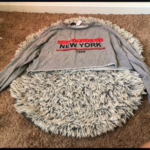 New York Crop LongSleeve